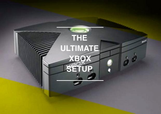 xbox setup: