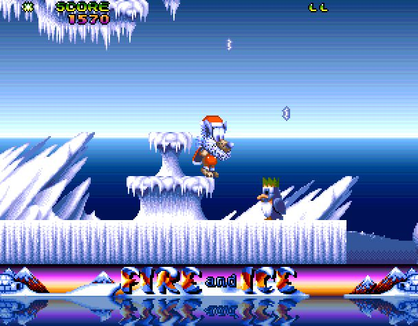 Fire And Ice Christmas Special Edition (Amiga)